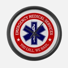 EMS (You Call, We Haul) Large Wall Clock