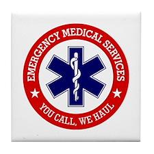 EMS (You Call, We Haul) Tile Coaster