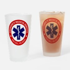 EMS (You Call, We Haul) Drinking Glass