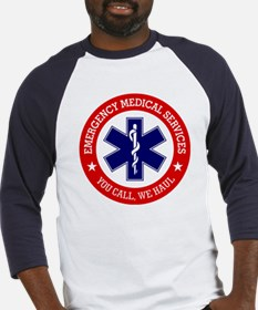 EMS (You Call, We Haul) Baseball Jersey