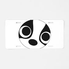 BTLove Aluminum License Plate