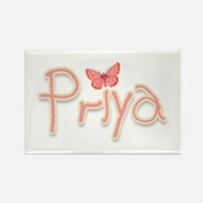 Priya's Butterfly Rectangle Magnet