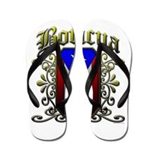 Boricua Flip Flops