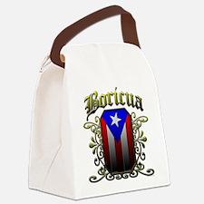 Boricua Canvas Lunch Bag
