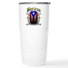 Boricua Travel Mug