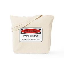 Attitude Zoologist Tote Bag