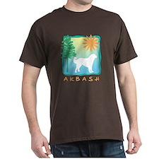 Akbash Tree & Sun T-Shirt