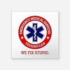 EMS (We Fix Stupid) Sticker