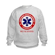 EMS (We Fix Stupid) Sweatshirt