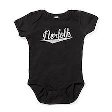 Norfolk, Retro, Baby Bodysuit