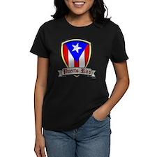 Puerto Rico - Shield2 Tee