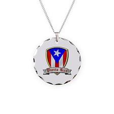 Puerto Rico - Shield2 Necklace