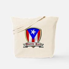 Puerto Rico - Shield2 Tote Bag
