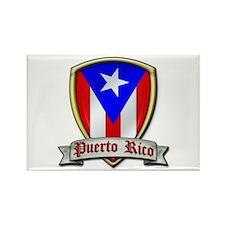 Puerto Rico - Shield2 Rectangle Magnet