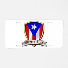 Puerto Rico - Shield2 Aluminum License Plate