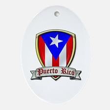 Puerto Rico - Shield2 Ornament (Oval)