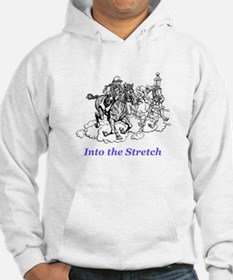 into the stretch Hoodie