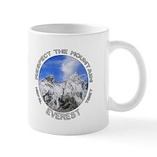 Respect The Mountain-Everest-1-Mug Mugs