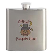 Official pumpkin Head Flask