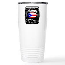 Boricua 100 Proof Travel Mug