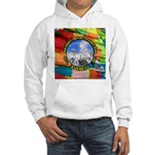 Respect the Mountain-Everest-1-PRAYER FLAG Hoodie