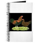 Partridge Chantecler Pair Journal