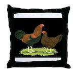 Partridge Chantecler Pair Throw Pillow