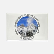 Respect The Mountain-Everest-1 Magnets