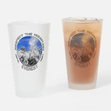 Respect the Mountain-Everest-1 Drinking Glass