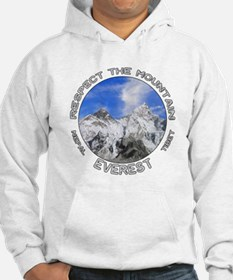 Respect the Mountain-Everest-1 Hoodie