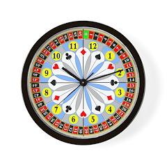 Clock of Fortune Wall Clock