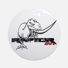 Ford Raptor SVT Ornament (Round)