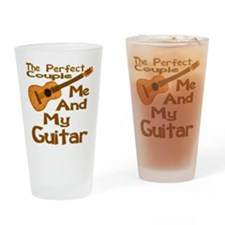 Me And My Guitar Drinking Glass