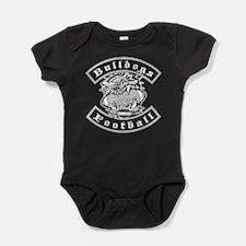 Bulldogs Football Baby Bodysuit