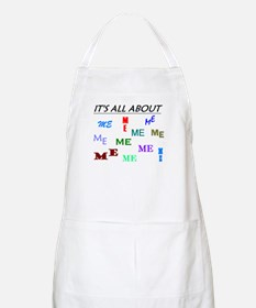 IT'S ALL ABOUT ME FUNNY BBQ Apron