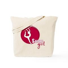 Sabre Girl Tote Bag