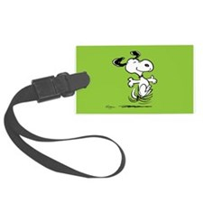 Dancing Dog Luggage Tag