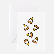 Candy Corn Greeting Cards