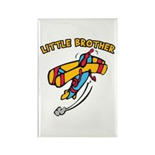 Little Brother Plane Rectangle Magnet