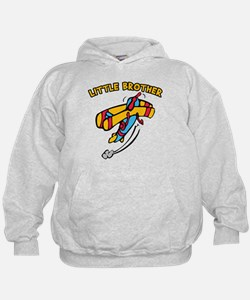 Little Brother Plane Hoodie
