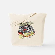 Lets Go Race Go Karts Tote Bag