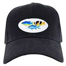 3 Damselfish c Baseball Hat