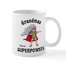 Grandma Superpowers Mugs