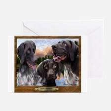 German Shorthaired Pointer Greeting Cards (Package