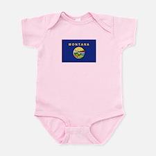 Montana Flag Infant Bodysuit