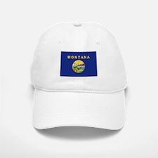Montana Flag Baseball Baseball Cap