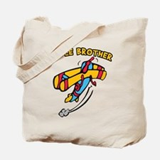 Middle Brother Plane Tote Bag