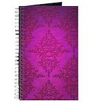Vibrant Elegant Pink and Purple Damask Pattern Jou