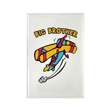 Big Brother Plane Rectangle Magnet
