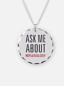 Ask Me About Reflexology Necklace